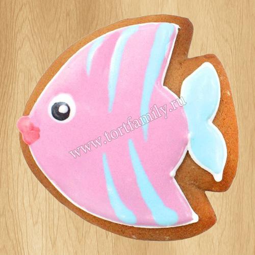 Пряник рыбка