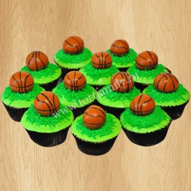 Капкейки баскетбол