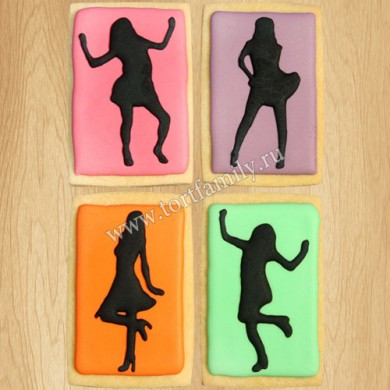Пряники танцовщице