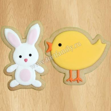 Пряники зайчик и цыпленок