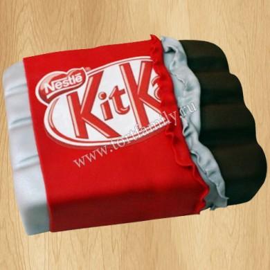 Торт в виде шоколадки Кит Кат