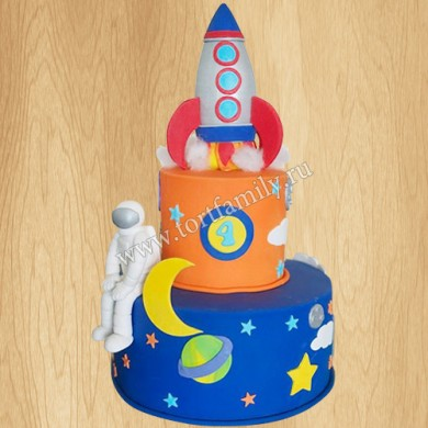Торт космос для мальчика