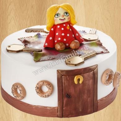Торт с Домовенком Кузей