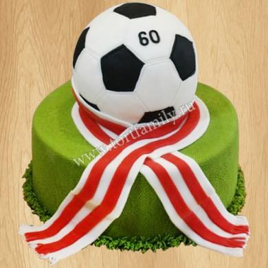 Торт футболисту на день рождения