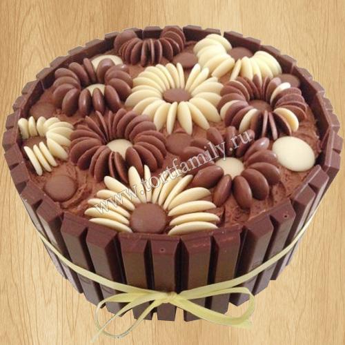 Торт KitKat