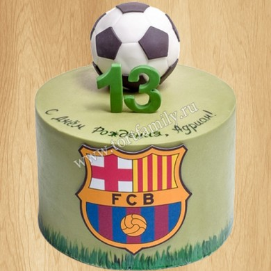 Торт Барселона для мальчика