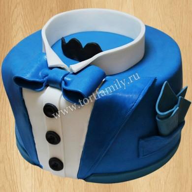 Торт для мужа смокинг