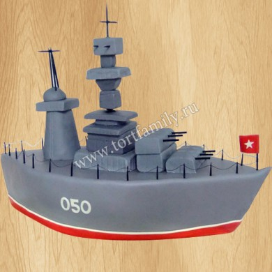 Торт военный корабль