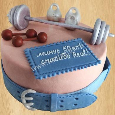 Торт для гиревика