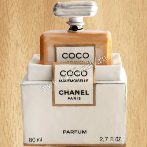 Торт женские духи Chanel