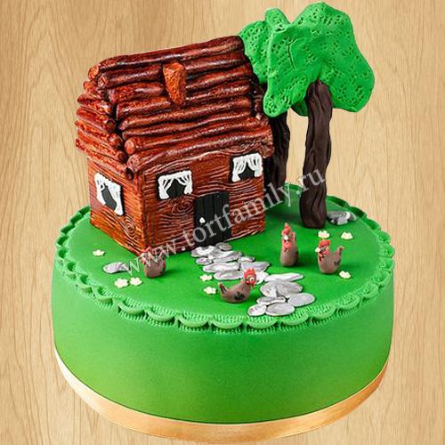 Торт Дачный домик