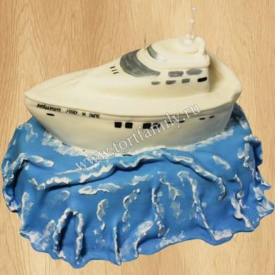 Торт Круизный катер