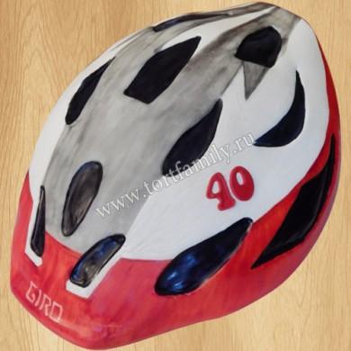 Торт Велосипедный шлем