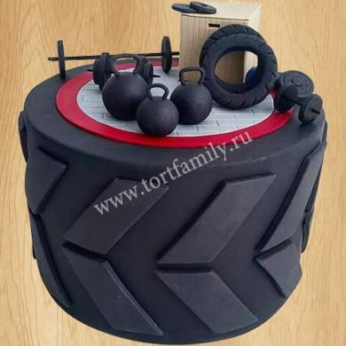 Торт покрышка