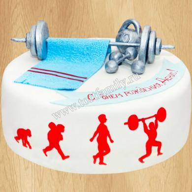 Торт тяжелоатлету