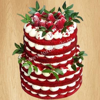 Торт Вупи пай - Красный бархат