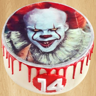 Торт Танцующий клоун Пеннивайз