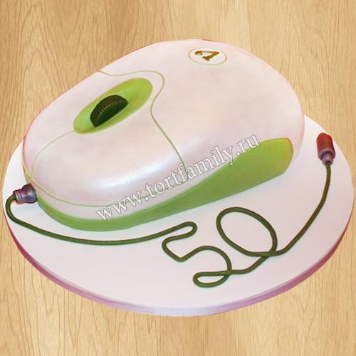 Торт компьютерная мышь