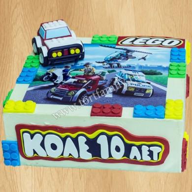 Торт Лего Полиция