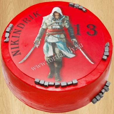 Торт Assassin's Creed