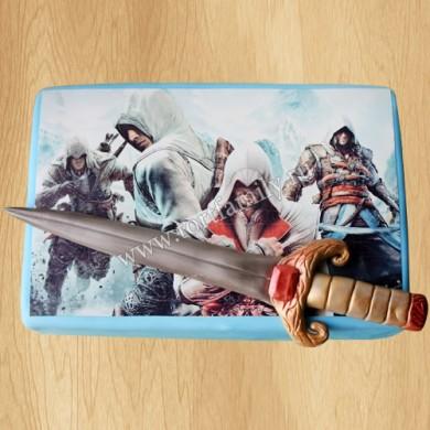 Торт с викингом Эйвор