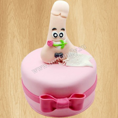 Веселый торт на девичник