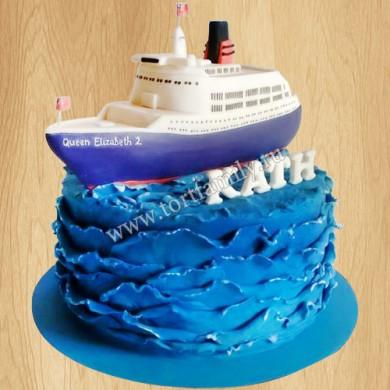 Торт Круизное судно