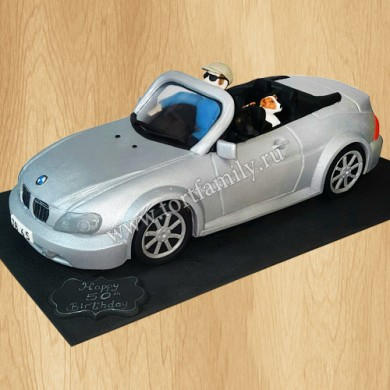 Торт Кабриолет BMW