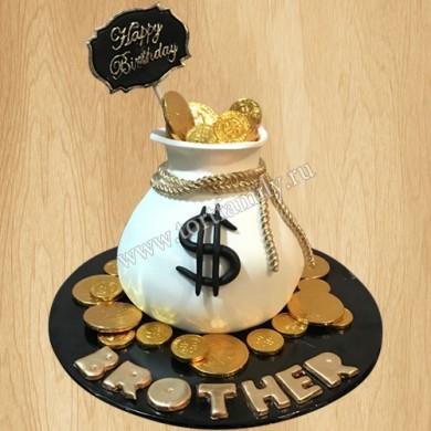 Торт Кисет золотых