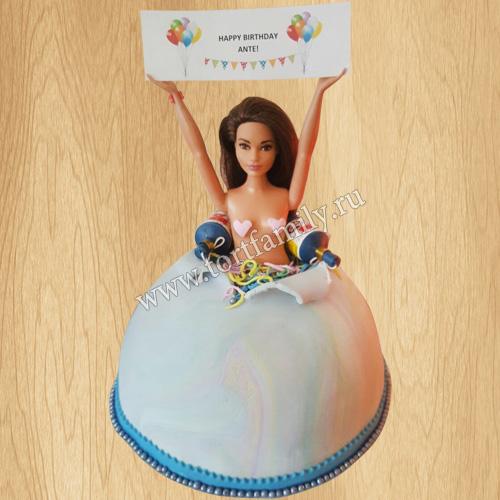 Торт стриптиз