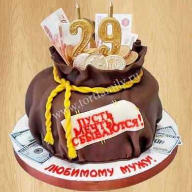 Торт Мешочек счастья