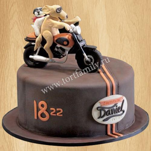 Торт для мотогонщика