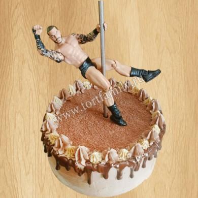 Торт мужской стриптиз на девичник