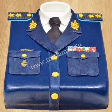 Торт полицейская форма