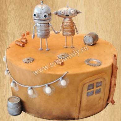 Стимпанк торт