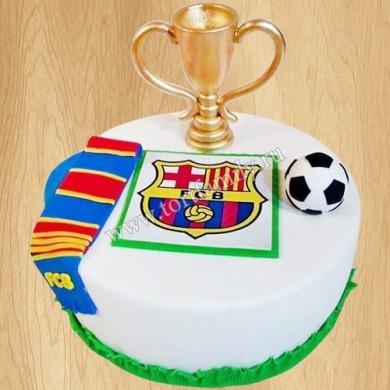 Торт кубок Лига чемпионов УЕФА
