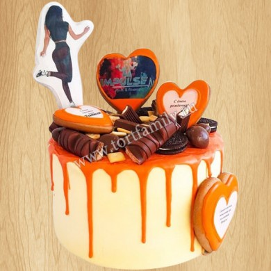 Торт фитоняшке