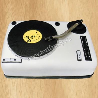 Торт проигрыватель виниловых пластинок