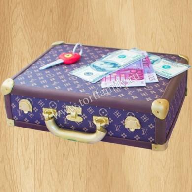Большой торт на 23 февраля
