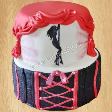 Торт со стриптизом