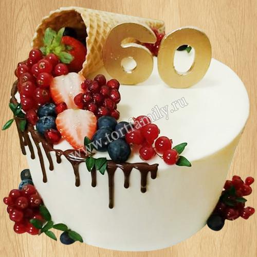 Торт мороженое на 60 лет