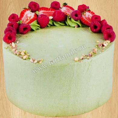 Торт мороженое фисташка