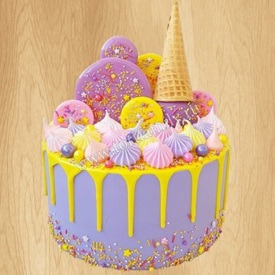 Торт мороженое с меренгой