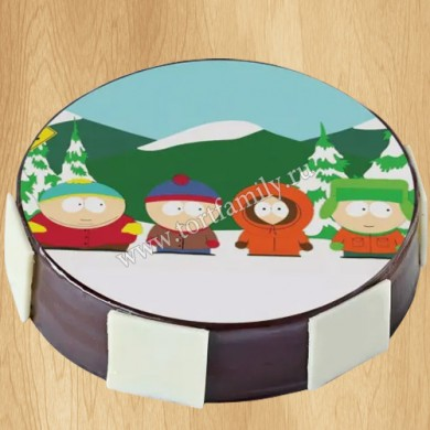 Торт мужу на тему South Park