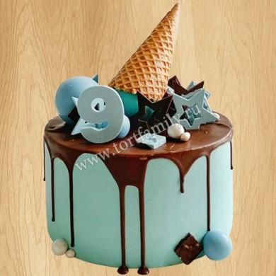 Торт мороженое для мальчика