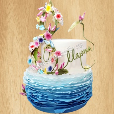 Торт на восьмое марта