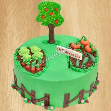 Торт дачный участок
