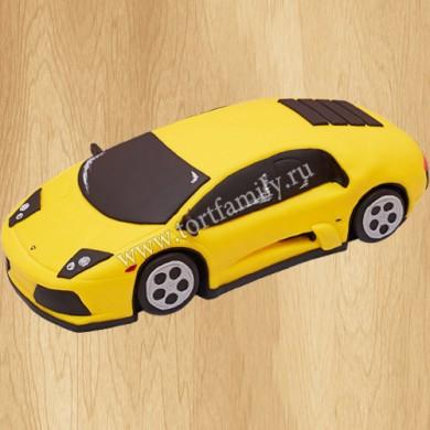 Торт авто Lamborghini Aventador