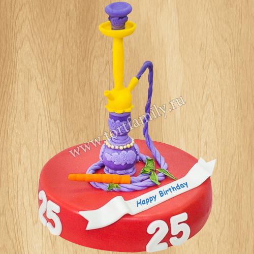 Торт кальянщику на день рождения