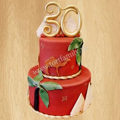Торт папе на 30 лет